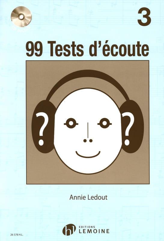 99 Tests D'écoute Volume 3 - Annie Ledout - laflutedepan.com