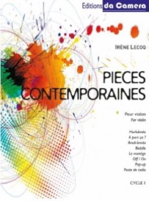 Pièces Contemporaines pour Violon - Irène Lecoq - laflutedepan.com