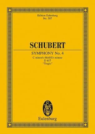 Symphonie Nr. 4 C-Moll D 417 SCHUBERT Partition laflutedepan