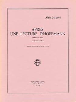 Après une lecture d'Hoffmann - Alain Margoni - laflutedepan.com