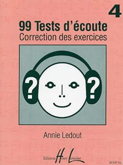 Annie Ledout - 99 Hörtests - Antworten - Band 4 - Partition - di-arezzo.de
