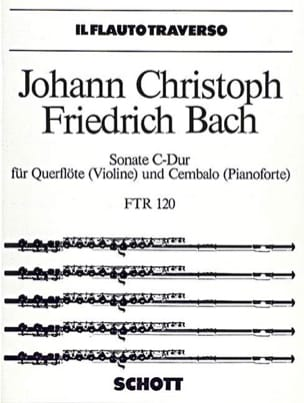 Sonate C-Dur - Flöte Violine u. Cembalo Klavier laflutedepan