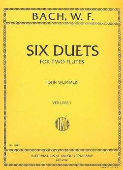 6 Duets - Volume 1 - 2 Flutes Wilhelm Friedemann Bach laflutedepan