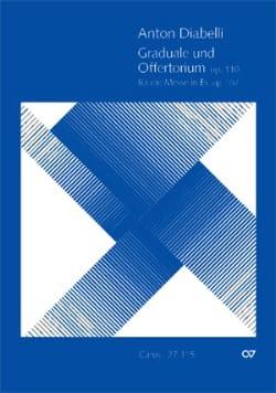 Graduale Und Offertorium Op.110 DIABELLI Partition laflutedepan