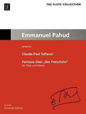 Fantaisie sur Le Freischütz de Weber Paul Taffanel laflutedepan