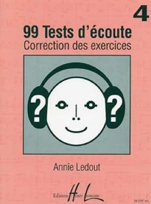 99 Tests d'écoute - Corrigés - Volume 4 - laflutedepan.com