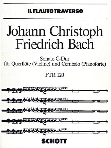 Sonate C-Dur - Flöte Violine u. Cembalo Klavier - laflutedepan.com