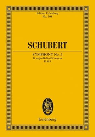 Symphonie Nr. 5 B-Dur - Conducteur SCHUBERT Partition laflutedepan