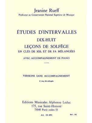 Etudes D'intervalles - Version 5 Clés Sans Acct laflutedepan