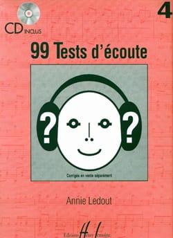 Annie Ledout - 99 Hörtests der Lautstärke 4 - Partition - di-arezzo.de