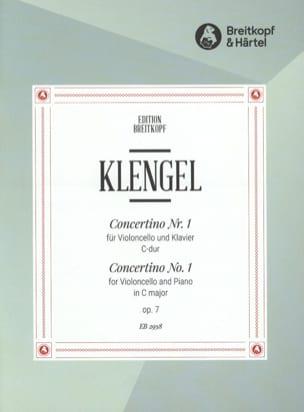 Concertino n° 1 C-Dur op. 7 Julius Klengel Partition laflutedepan
