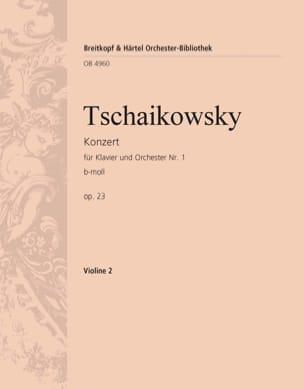 Klavierkonzert Nr. 1 b-moll TCHAIKOVSKY Partition laflutedepan