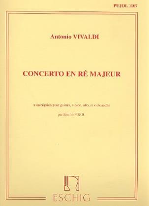 Concerto en Ré majeur -Guitare et Trio à Cordes VIVALDI laflutedepan
