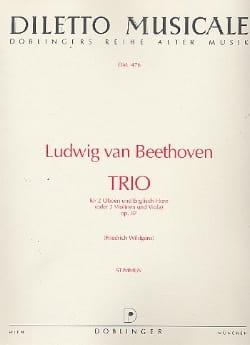 BEETHOVEN - Trio C-Dur op. 87 - 2 Oboen Englischhorn - Stimmen - Partition - di-arezzo.co.uk