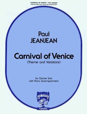 Carnival Of Venice - Clarinet-Piano Paul Jeanjean laflutedepan