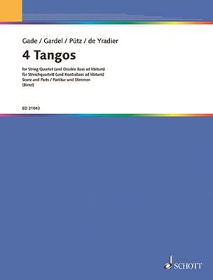 4 Tangos pour Quatuor à Cordes laflutedepan