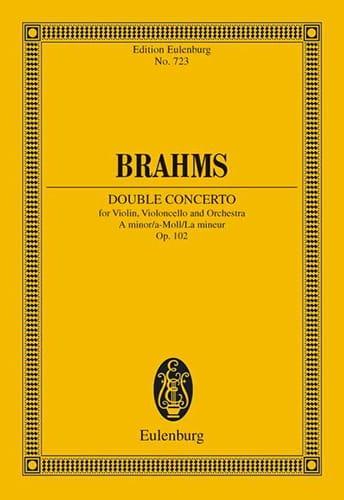 Doppel-Konzert A-Moll - Conducteur - BRAHMS - laflutedepan.com