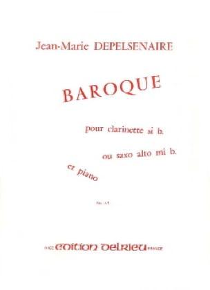 Baroque - Jean-Marie Depelsenaire - Partition - laflutedepan.com