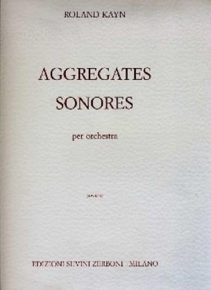 Aggregates Sonores - Roland Kayn - Partition - laflutedepan.com