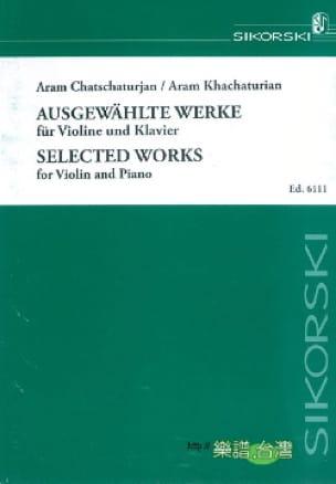 Selected Works - KHATCHATURIAN - Partition - Violon - laflutedepan.com