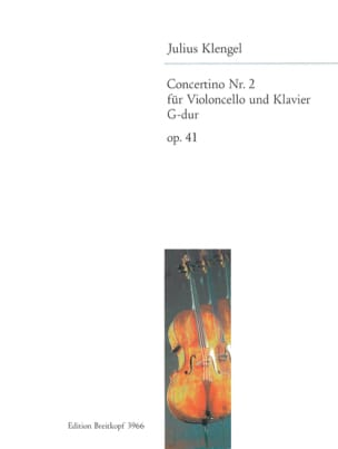 Concertino n° 2 G-Dur op. 41 Julius Klengel Partition laflutedepan