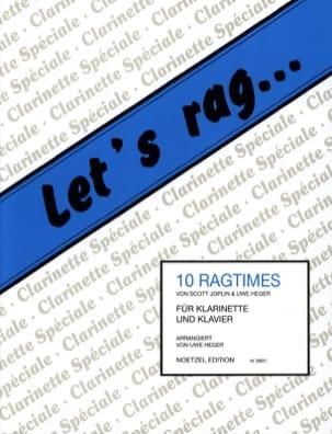 Let's Rag - 10 Ragtimes - Clarinet laflutedepan