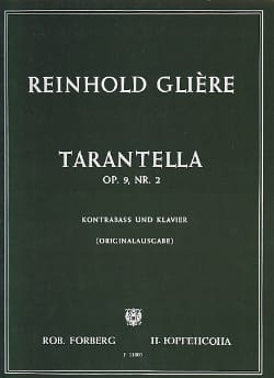 Reinhold Glière - Tarantella op. 9 n ° 2 - Partition - di-arezzo.co.uk