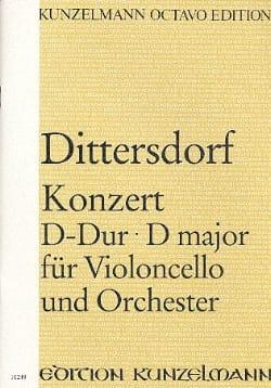 Konzert D-Dur für Violoncello - Partitur laflutedepan
