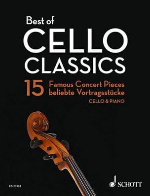 Best of Cello Classics - Violoncelle et piano Partition laflutedepan