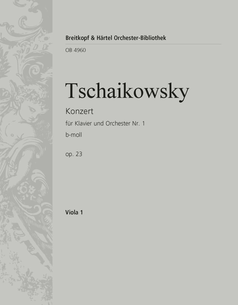 Klavierkonzert Nr. 1 b-moll - TCHAIKOVSKY - laflutedepan.com