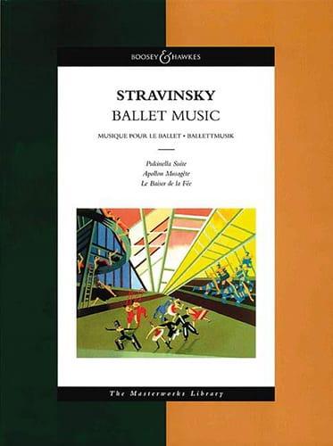 Ballet Music - Score - STRAVINSKY - Partition - laflutedepan.com