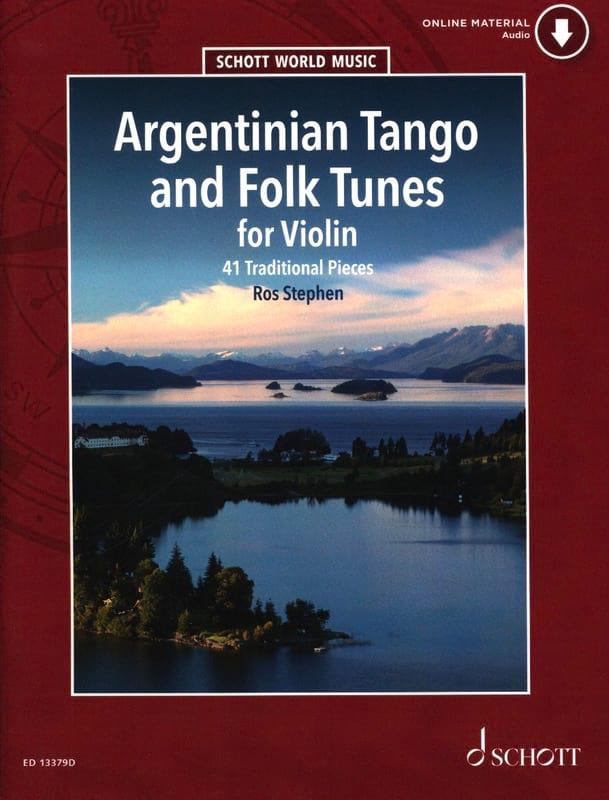 Argentinian Tango And Folk Tunes For Violon - laflutedepan.com
