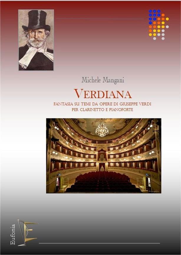 Verdiana - Michele Mangani - Partition - Clarinette - laflutedepan.com