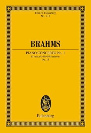 Klavier-Konzert Nr. 1 d-moll BRAHMS Partition laflutedepan