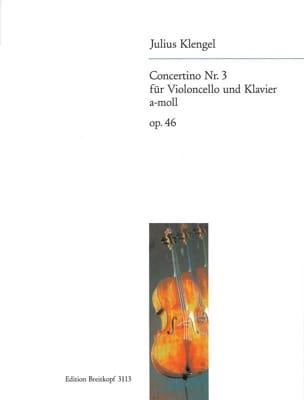 Concertino n° 3 a-moll op. 46 Julius Klengel Partition laflutedepan