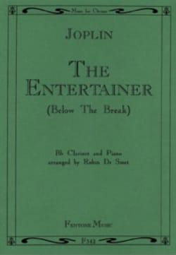 The Entertainer - Clarinet JOPLIN Partition Clarinette - laflutedepan