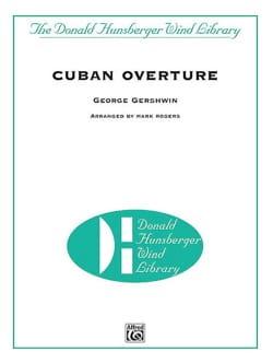 Cuban Overture - Conducteur GERSHWIN Partition laflutedepan
