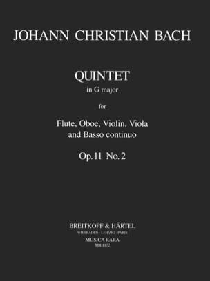 Quintette En Sol Maj., Op.11 N°2 - Flûte-Hautbois-Violon-Alto-B. C. laflutedepan