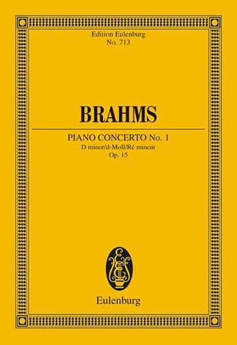 Klavier-Konzert Nr. 1 d-moll - BRAHMS - Partition - laflutedepan.com