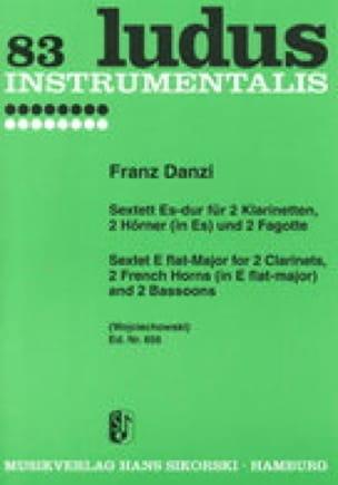 Sextett Es-Dur - 2 Klarinetten 2 Hörner 2 Fagotte - Stimmen - laflutedepan.com