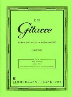 Quintett Nr. 2 C-Dur - Stimmen BOCCHERINI Partition laflutedepan