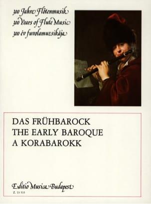 The Early Baroque - Flûte et Piano Partition laflutedepan