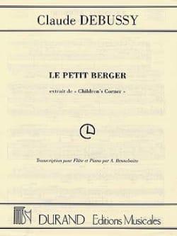 Le petit berger - Flûte et piano DEBUSSY Partition laflutedepan
