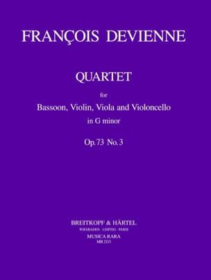 Quartet G minor op. 73 n° 3 -Bassoon violin viola cello laflutedepan