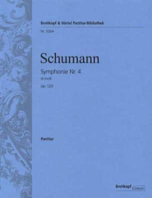 Symphonie N° 4 en Ré Min. Op.120 - Conducteur SCHUMANN laflutedepan
