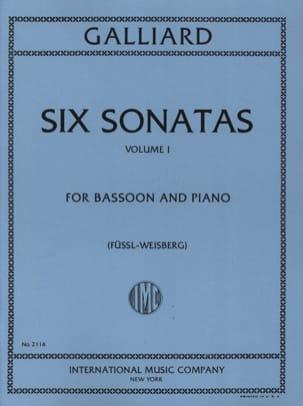 6 Sonatas - Volume 1 -Bassoon piano laflutedepan