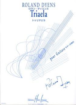 Triaela Roland Dyens Partition Guitare - laflutedepan