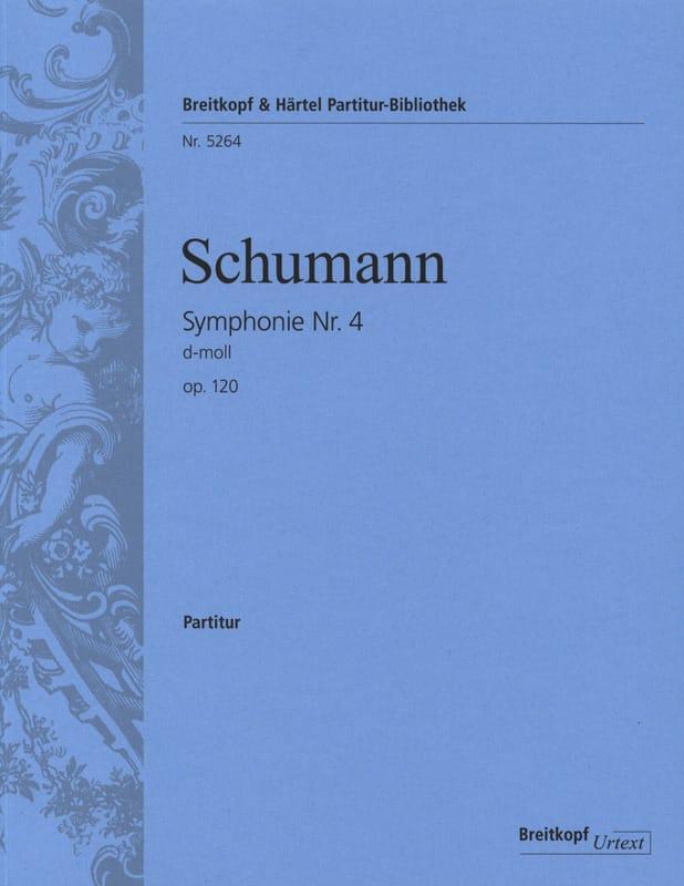 Symphonie N° 4 en Ré Min. Op.120 - Conducteur - laflutedepan.com