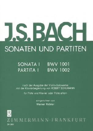 Sonates et Partitas Volume 1 - laflutedepan.com