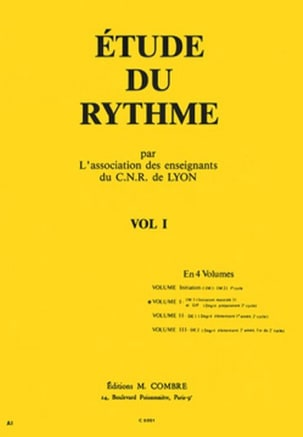 Etude du Rythme Volume 1 de Lyon C.N.R. Partition laflutedepan